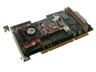 AD490 mounted on a PCI-X adapter