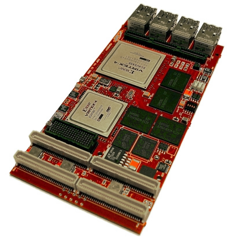 FM482 FPGA PMC/XMC Module with optical transceivers